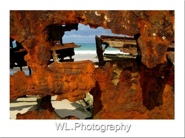 Rusted view